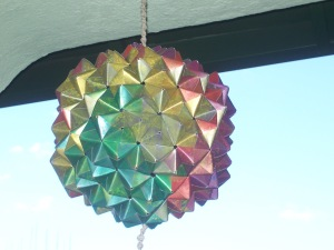 Buckyball from Green face