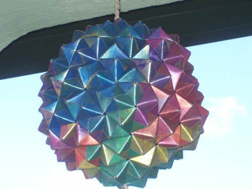 Buckyball from Blue face