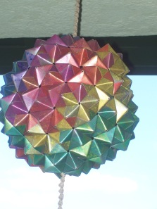 Buckyball from Red-Orange side