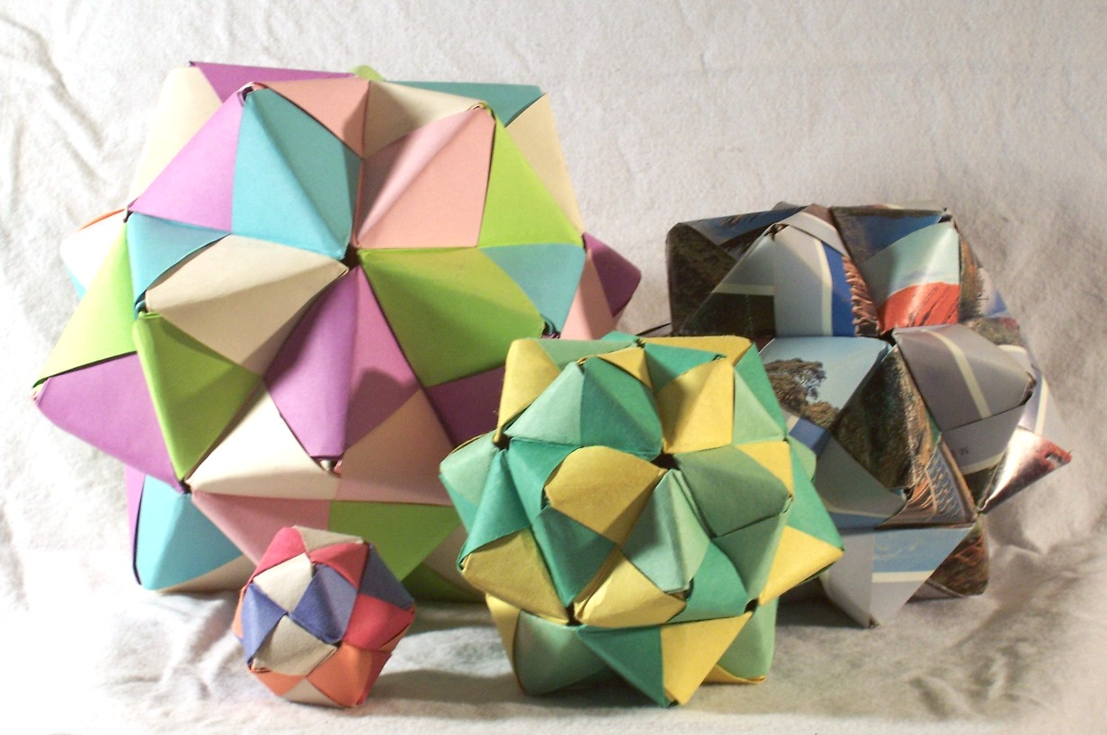 Origami from modules: history and features of art 100